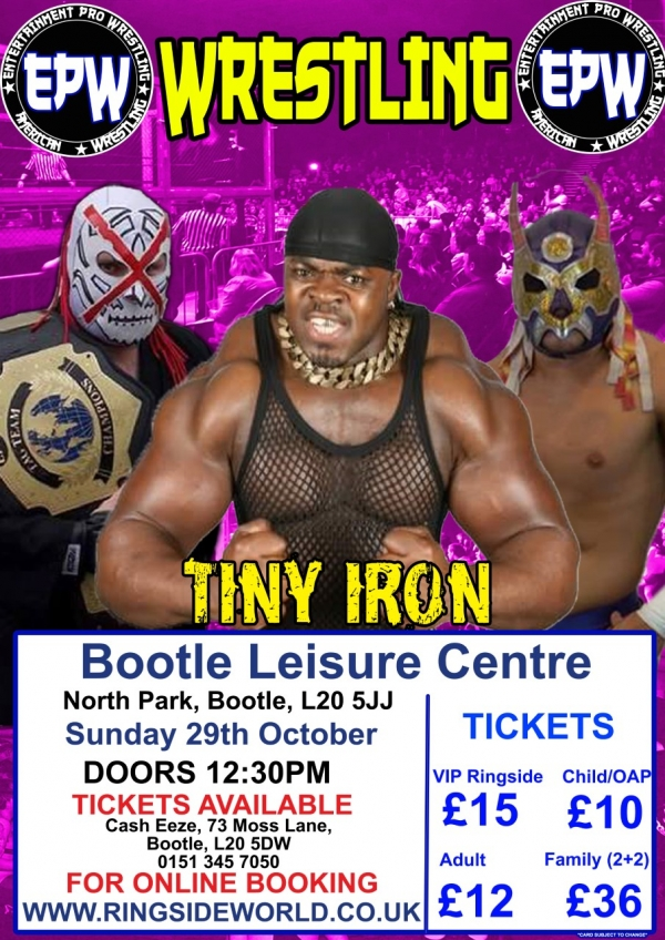 AMERICAN WRESTLING EPW BOOTLE