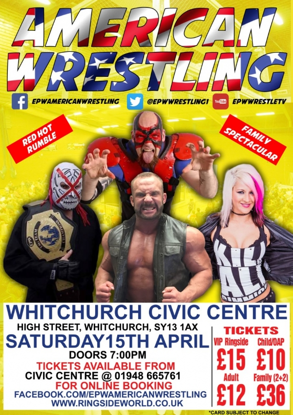 AMERICAN WRESTLING EPW WHITCHURCH