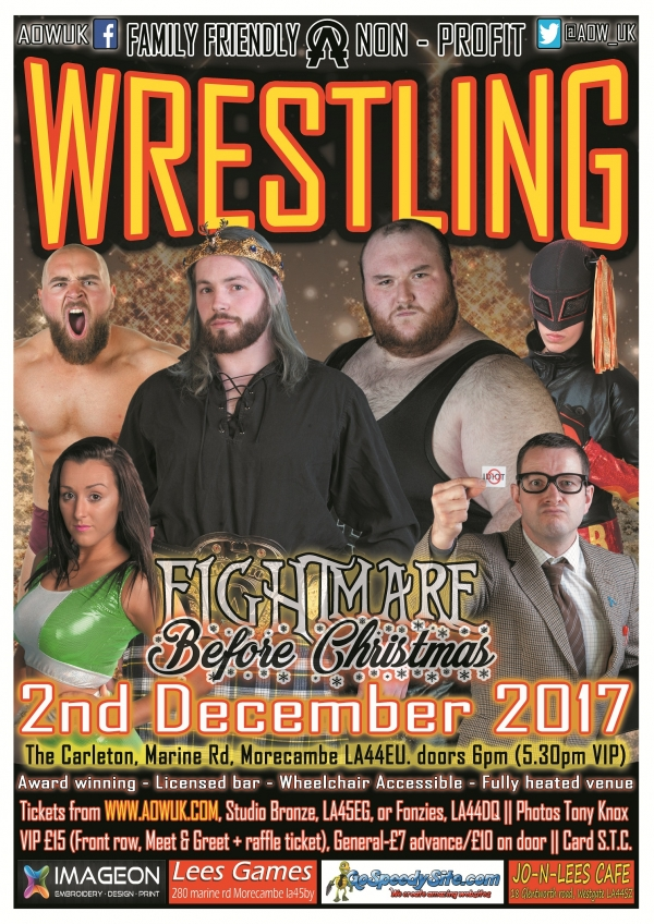 Alpha Omega - Fightmare Before Christmas 2017