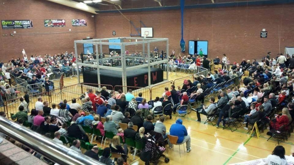 AMERICAN WRESTLING EPW SOUTH SHIELDS