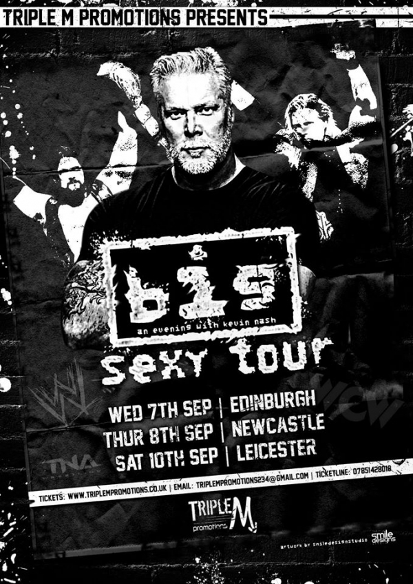 An Audience with Kevin Nash - Big Sexy Tour 2016 - Edinburgh