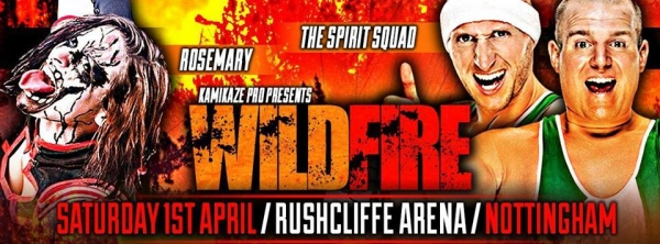 Kamikaze Pro Presents Wildfire