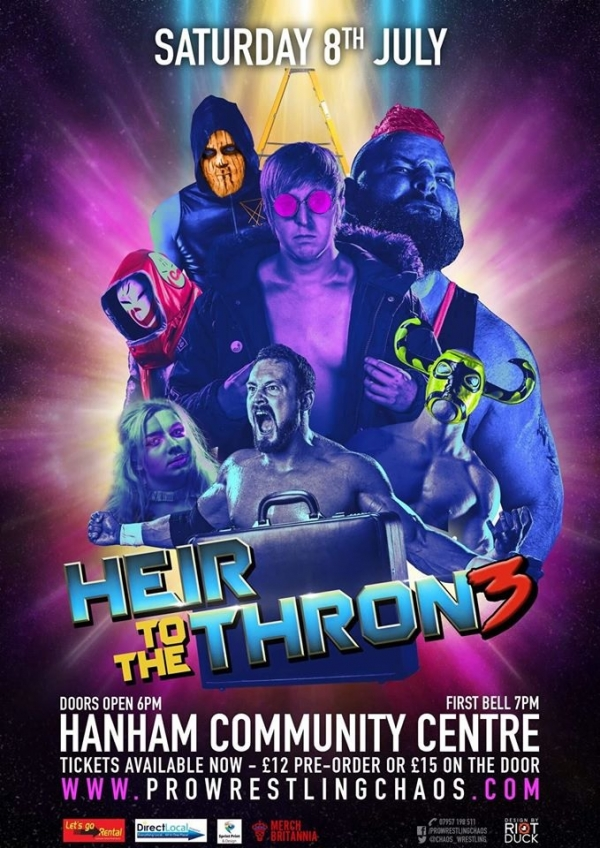 Pro Wrestling Chaos: Heir to the Thron3