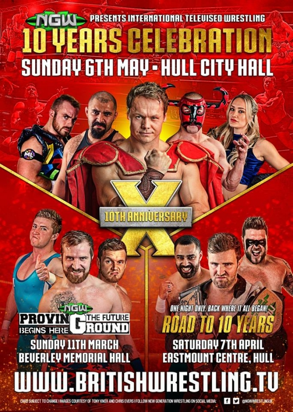 NGW 10th Anniversary Show