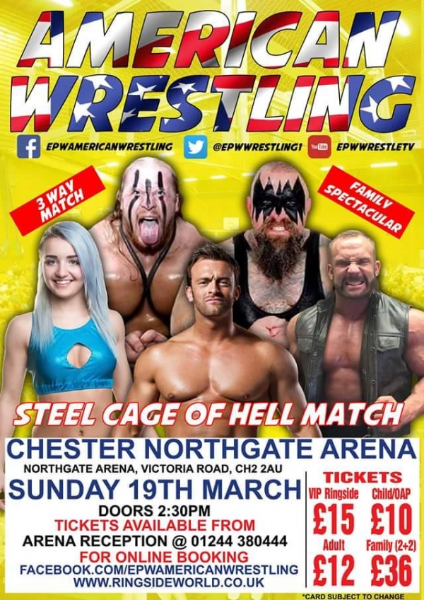 AMERICAN WRESTLING EPW CHESTER