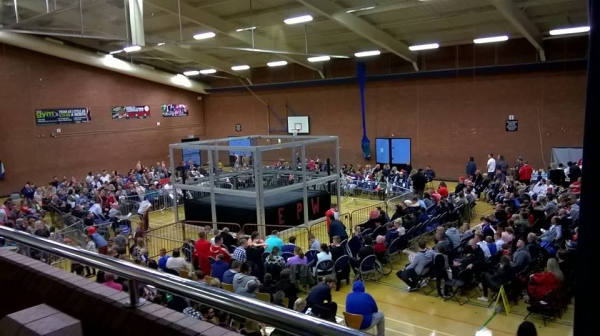 2018 AMERICAN WRESTLING EPW SOUTH SHIELDS