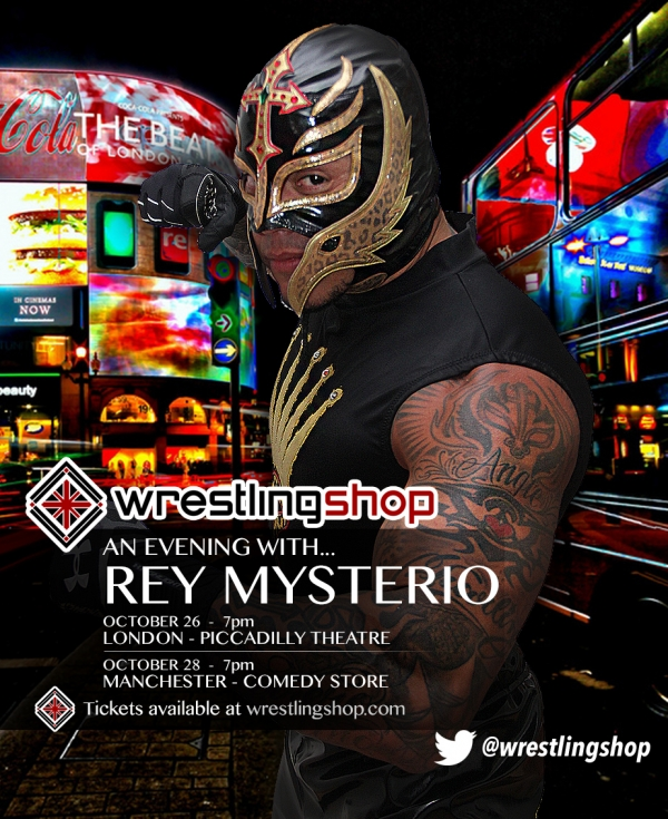 An Evening with Rey Mysterio - Manchester