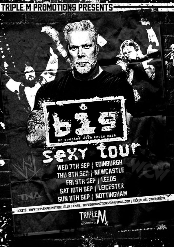 An Audience with Kevin Nash - Big Sexy Tour 2016 - Leicester
