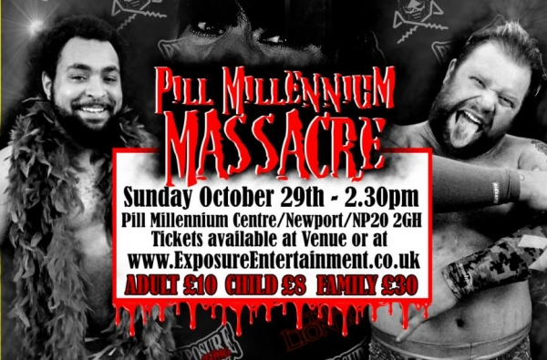 Exposure Entertainment Presents Pill Millennium Massacre