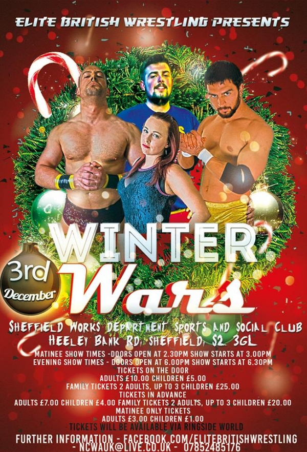 Elite British Wrestling Presents Winter Wars 2017