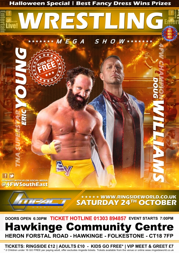 4FW: Live! Wrestling featuring TNA Star Eric Young