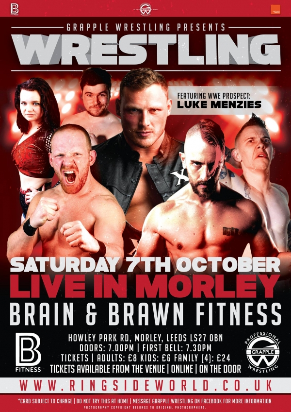 Grapple Wrestling in Morley