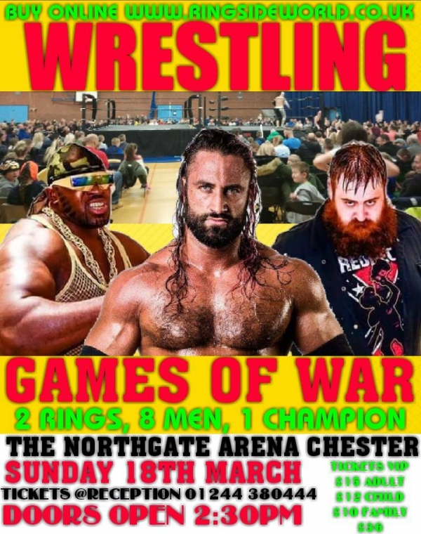 2018 AMERICAN WRESTLING EPW CHESTER