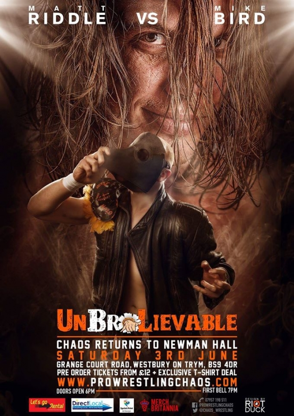 Bro Wrestling Chaos: UnBroLievable