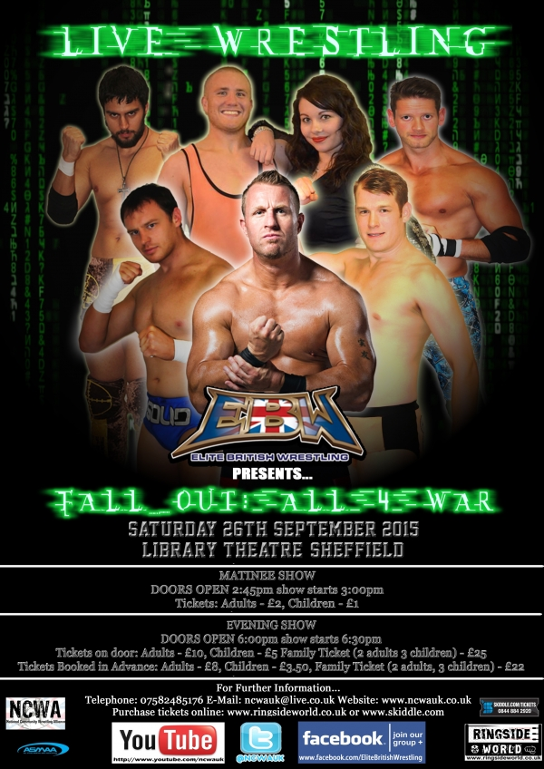 Elite British Wrestling Presents FALL_OUT: All 4 War