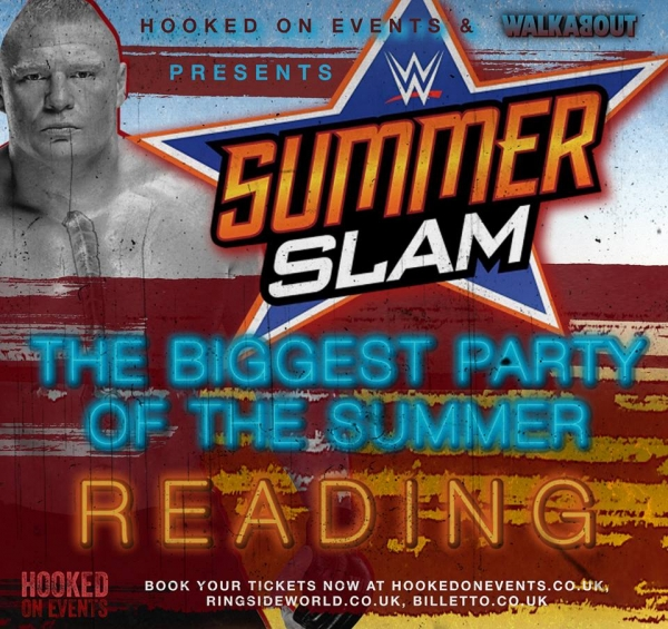 A Hooked On Wrestling Event: WWE Summerslam 2017 - Reading