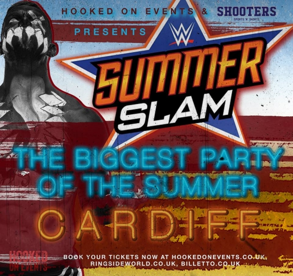 A Hooked On Wrestling Event: Summerslam 2017 - Cardiff