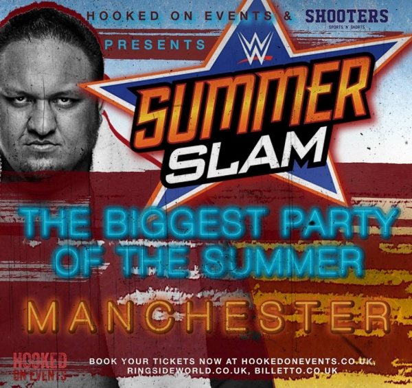 A Hooked On Wrestling Event: Summerslam 2017 - Manchester