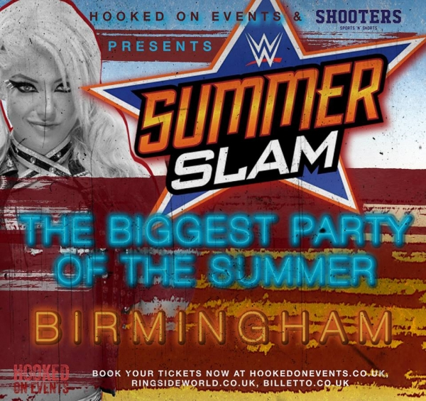 A Hooked On Events Party: SummerSlam 2017 - Birmingham