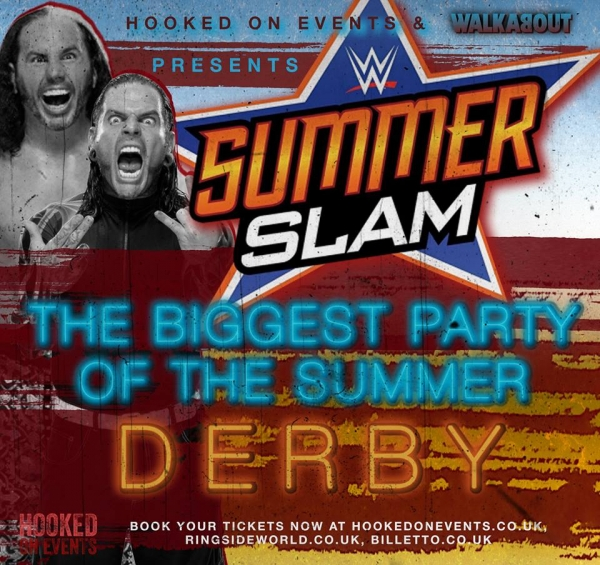A Hooked On Wrestling Event: WWE Summerslam 2017 - Derby