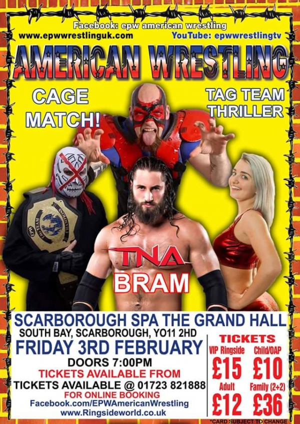 AMERICAN WRESTLING EPW SCARBOROUGH