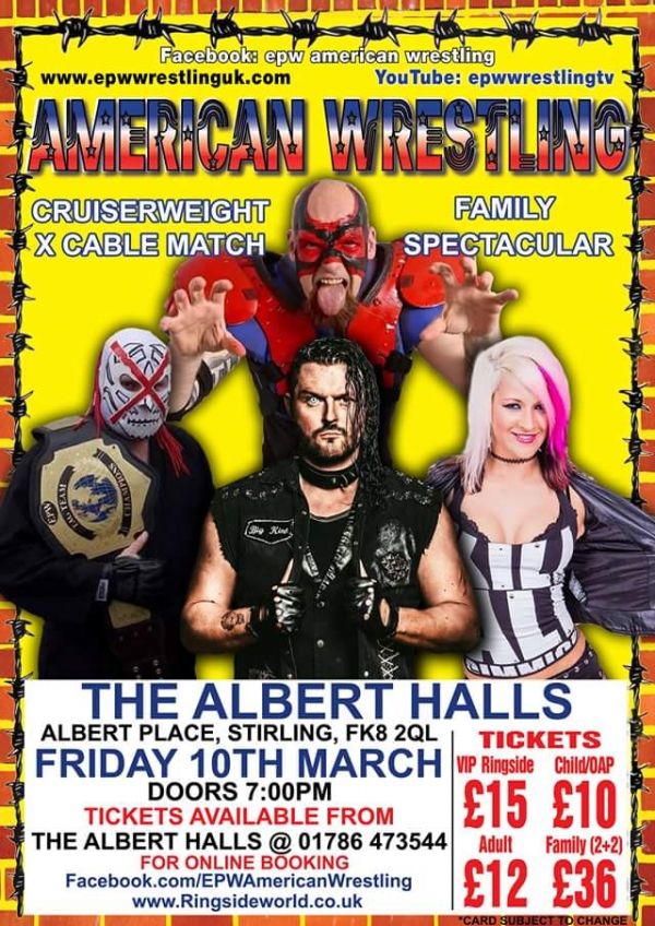 AMERICAN WRESTLING EPW STIRLING