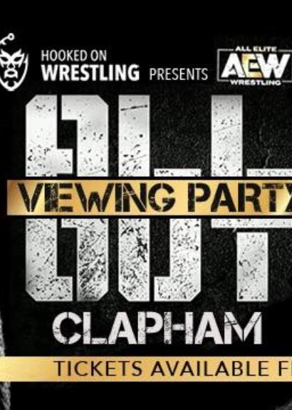 AEW All Out Viewing Party - London Clapham Junction