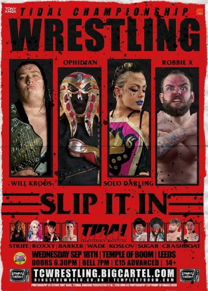 Tidal Championship Wrestling Presents Slip It In