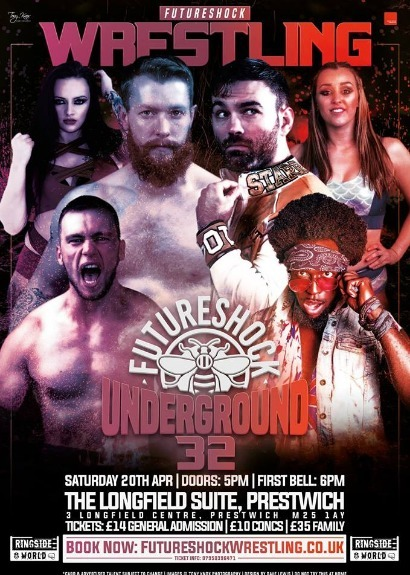 FutureShock Underground 32 - Prestwich, Manchester featuring the return of David Starr.