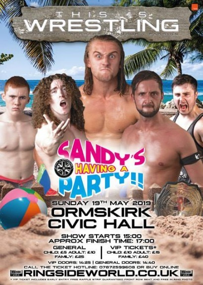 This Is Wrestling: Sandy's Having A Party