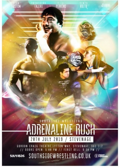 Southside Wrestling Presents Adrenaline Rush 2019