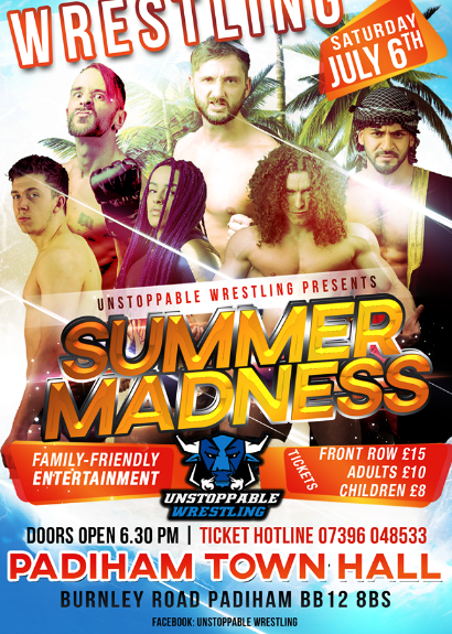 Unstoppable Wrestling Presents Summer Madness
