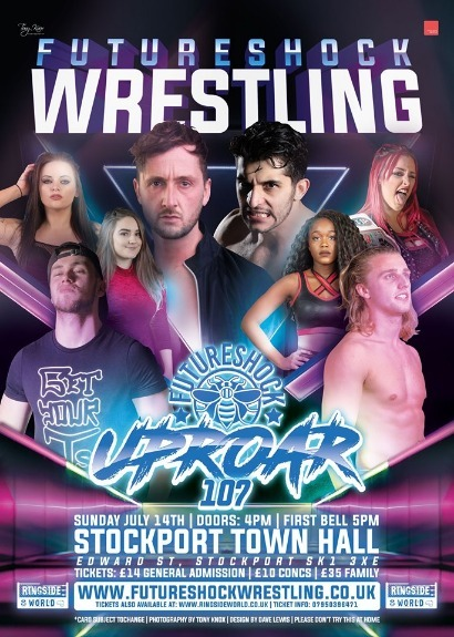 FutureShock Uproar 107 - Live from Stockport Town Hall.