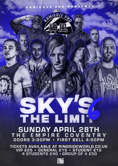 Kamikaze Pro Presents Sky's The Limit 6