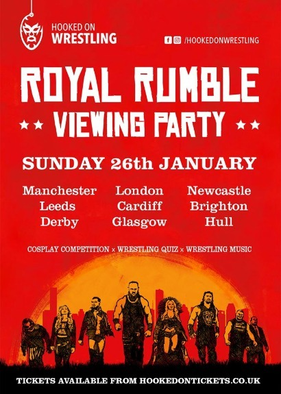 WWE Royal Rumble Viewing Party - LIVERPOOL