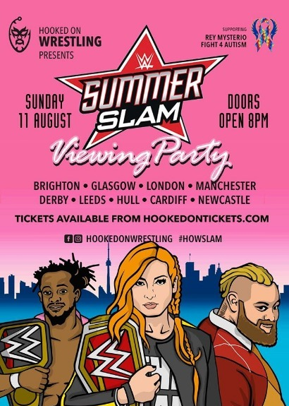 WWE SummerSlam Viewing Party - Glasgow