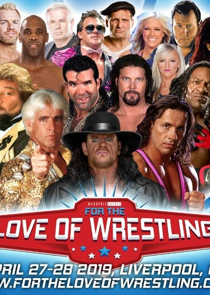 For The Love Of Wrestling - Weekend & 27th April