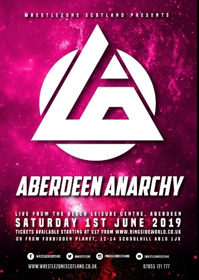WrestleZone Presents Aberdeen Anarchy 2019