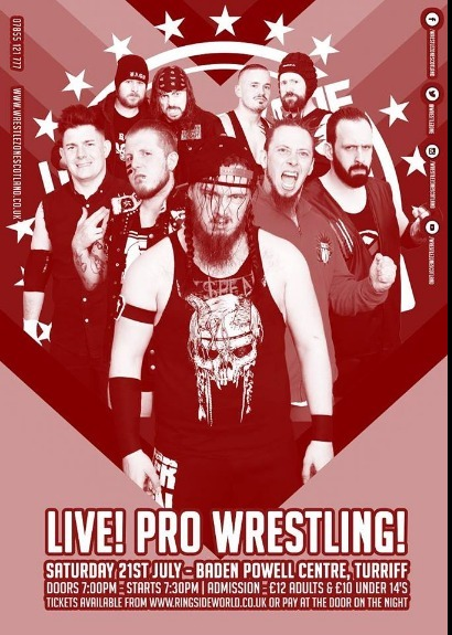 WrestleZone Live! in Turriff