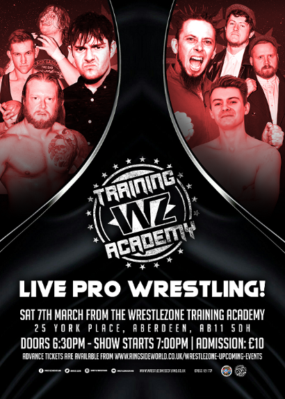 Live Wrestling From The WrestleZone Training Academy!