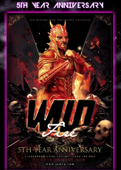 4GW Presents Wild Fire 5th Year Anniversary
