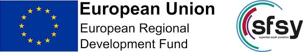 EU Development Fund and Superfast South Yorkshire Logos