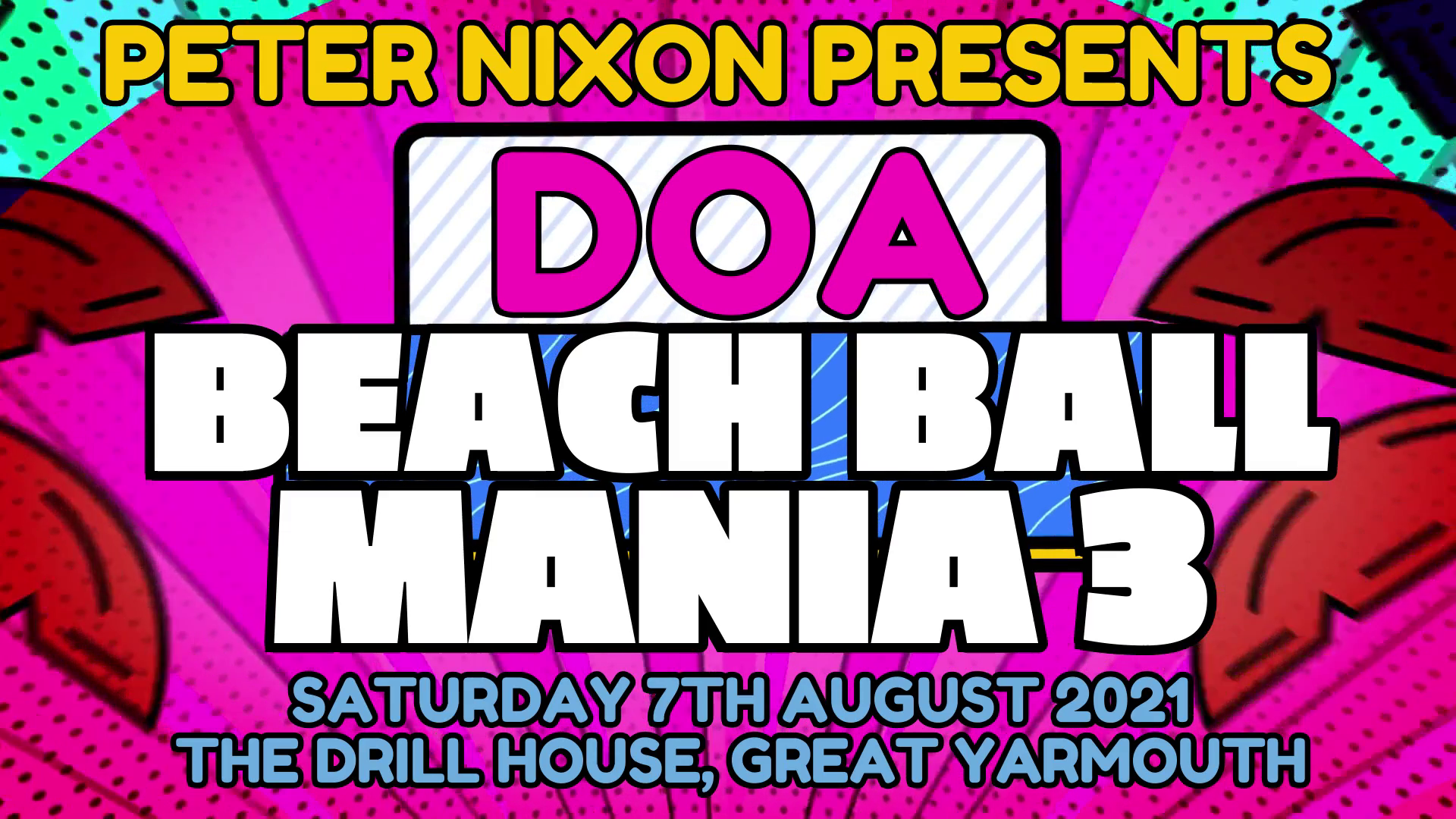 DOA Beach Ball Mania 3 event description image