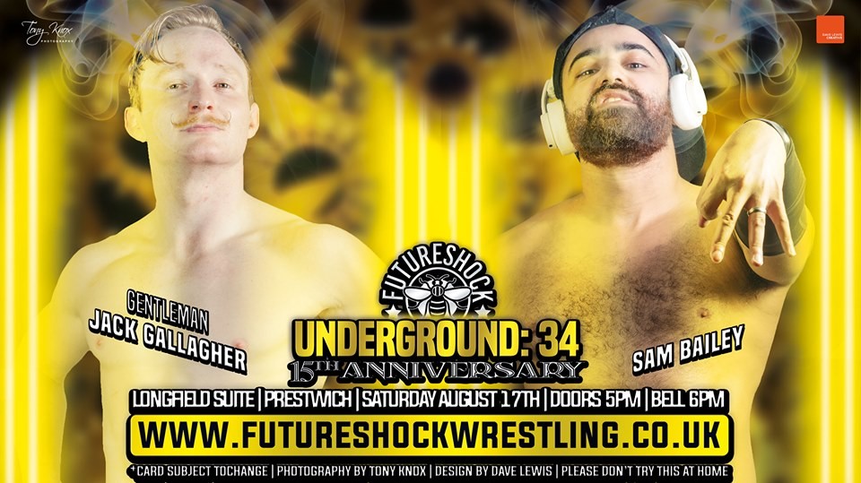 FutureShock Wrestling: Underground 34 - The 15th Anniversary. event description image