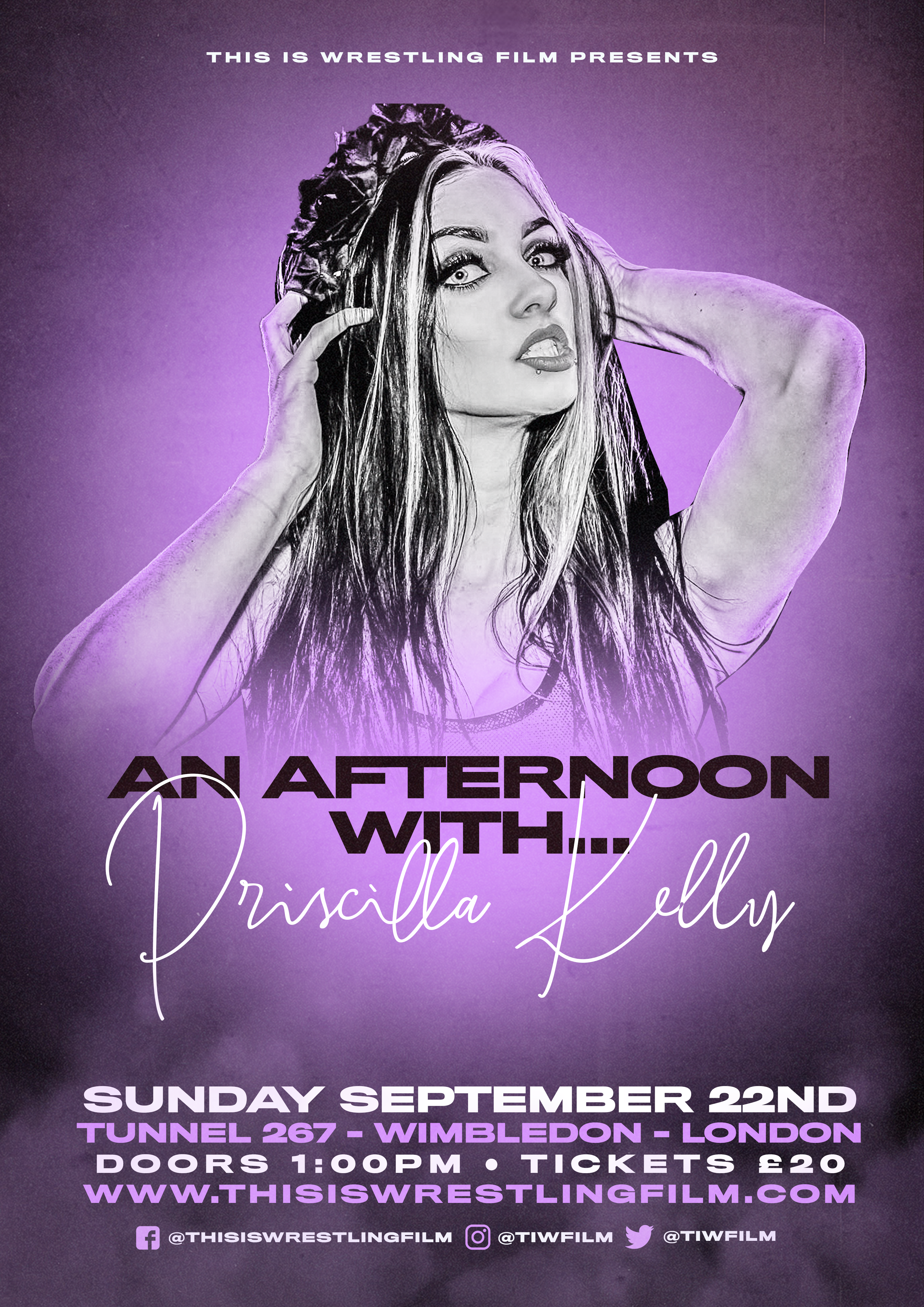 An Afternoon With Priscilla Kelly event description image