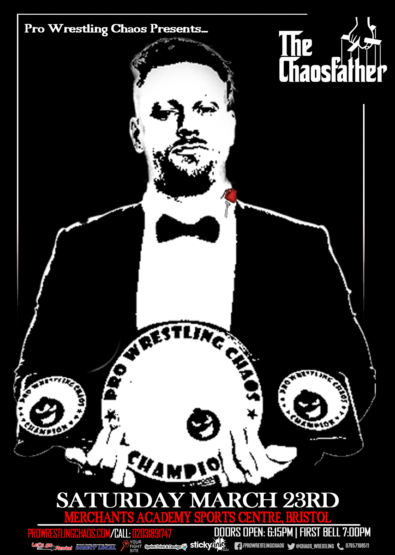 Pro Wrestling Chaos Presents The Chaosfather  event description image
