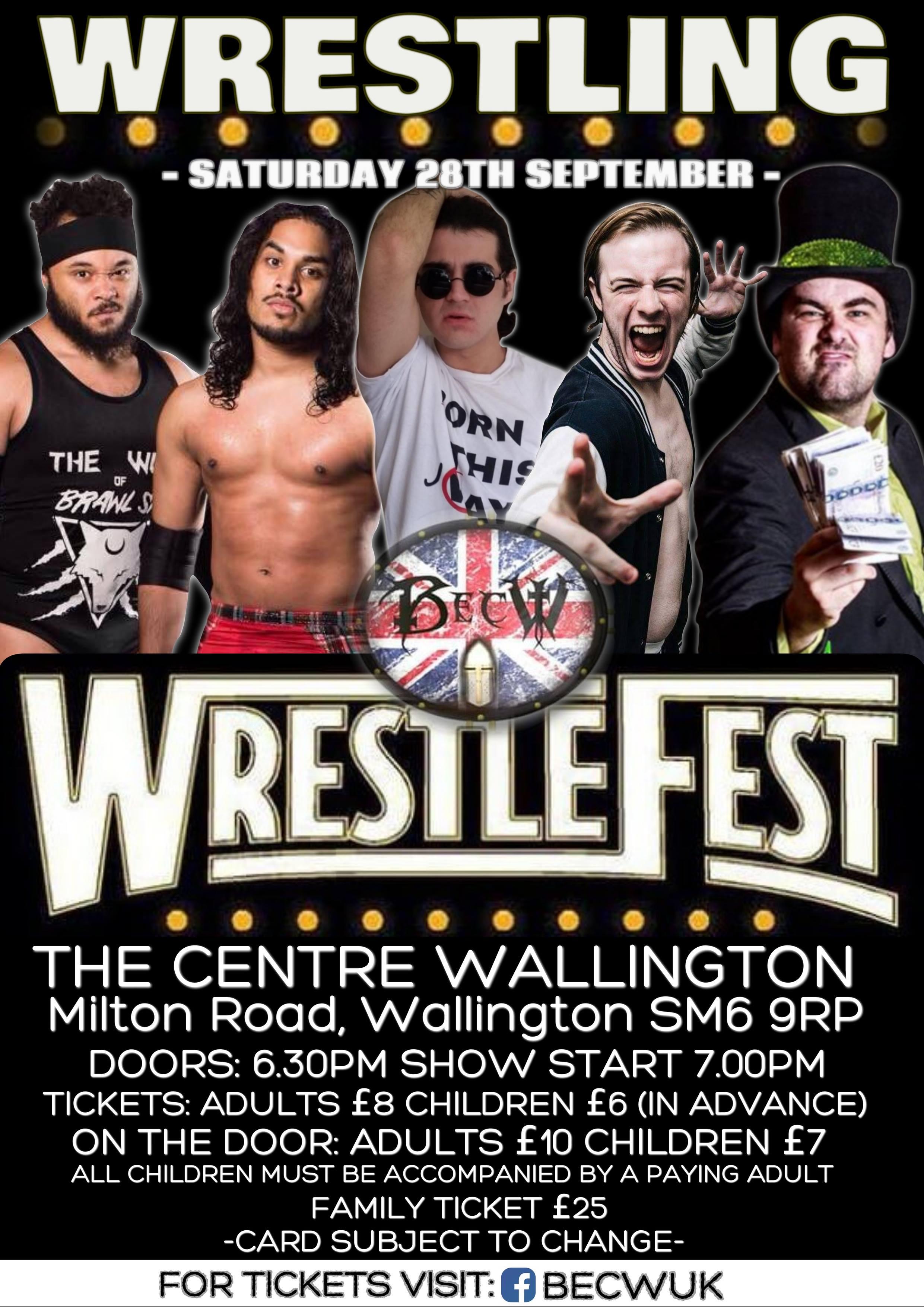 BECW Wrestlefest 6  event description image