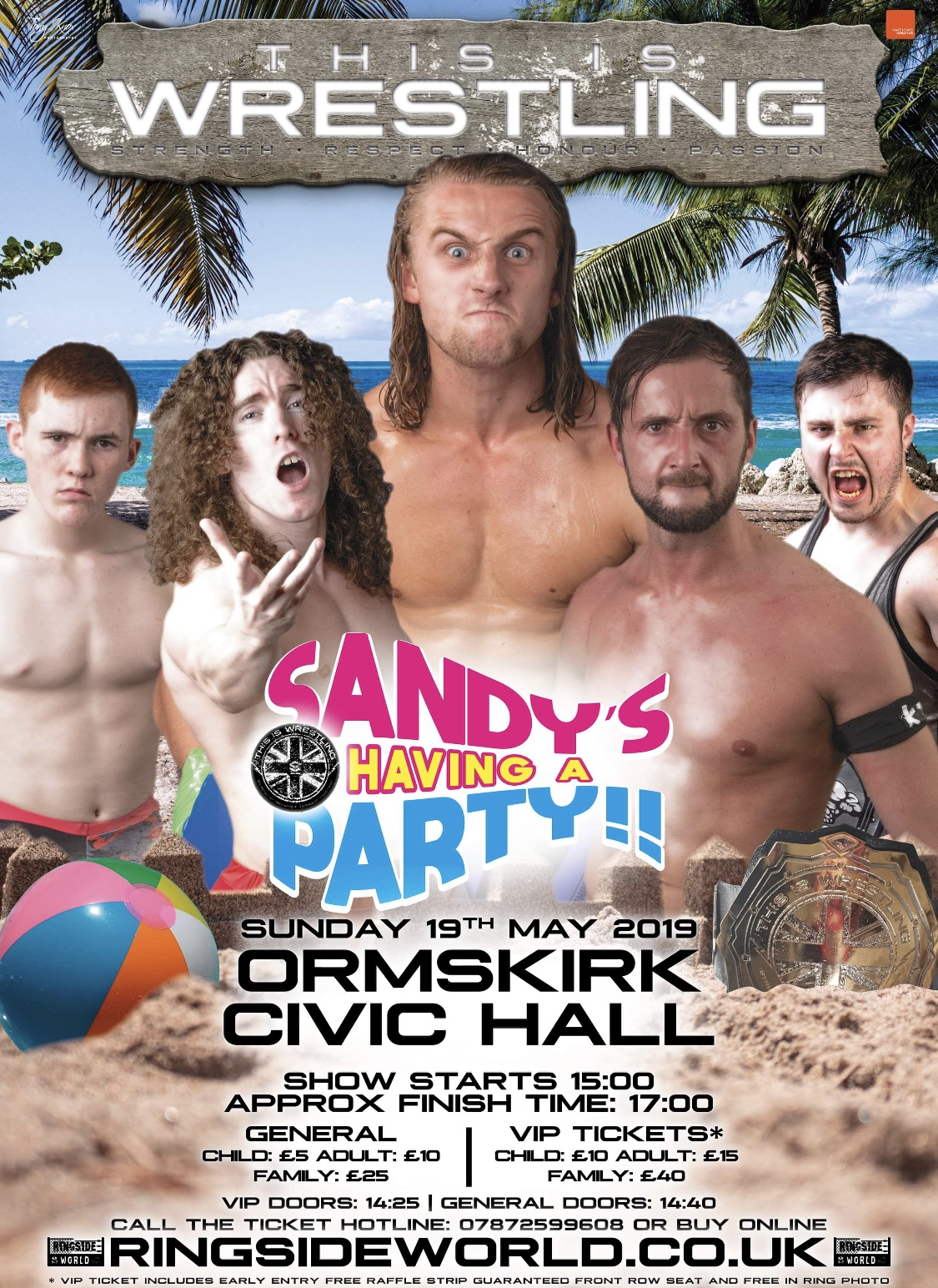 This Is Wrestling: Sandy's Having A Party  event description image