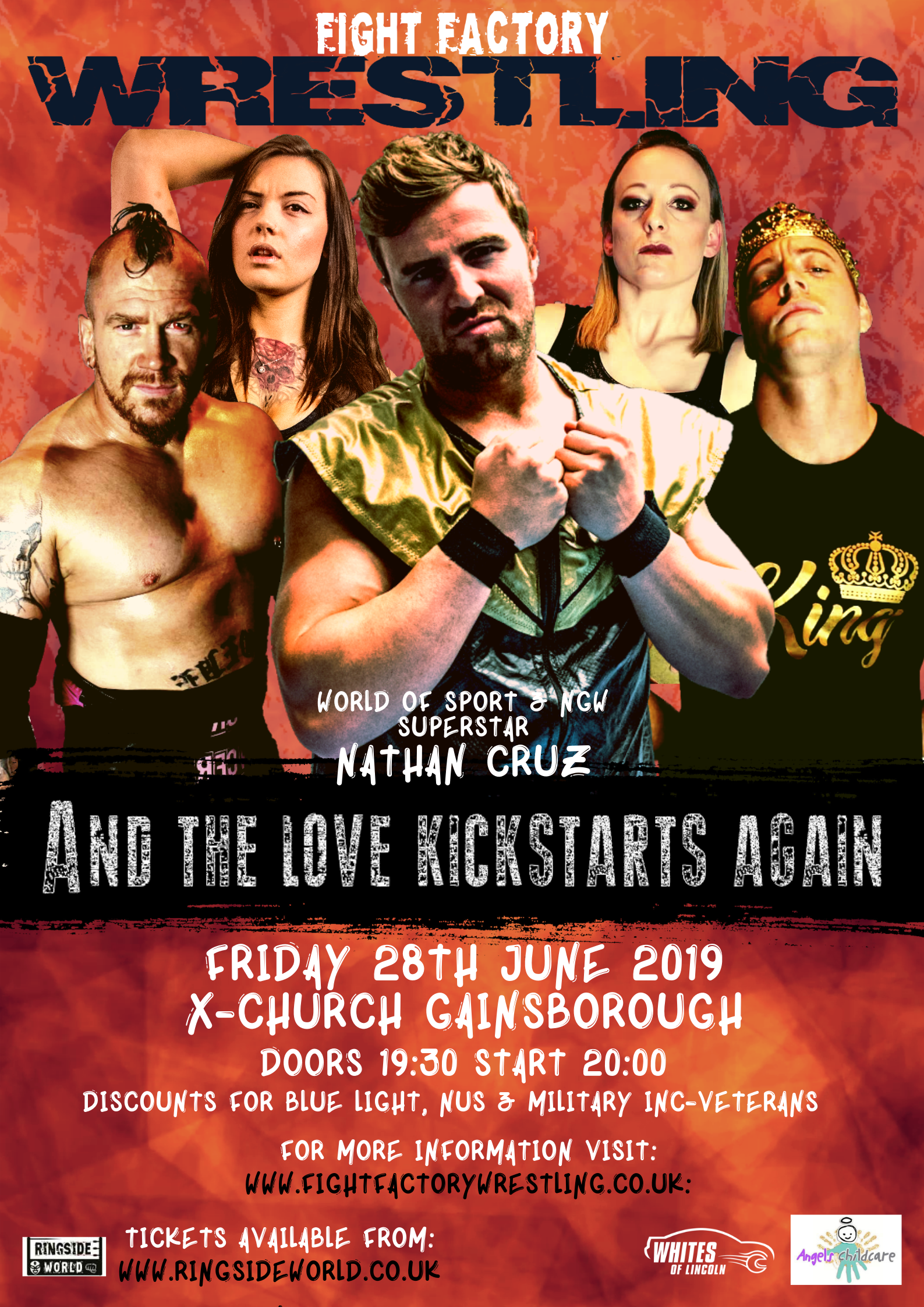 FFW presents And the Love Kick-Starts again event description image
